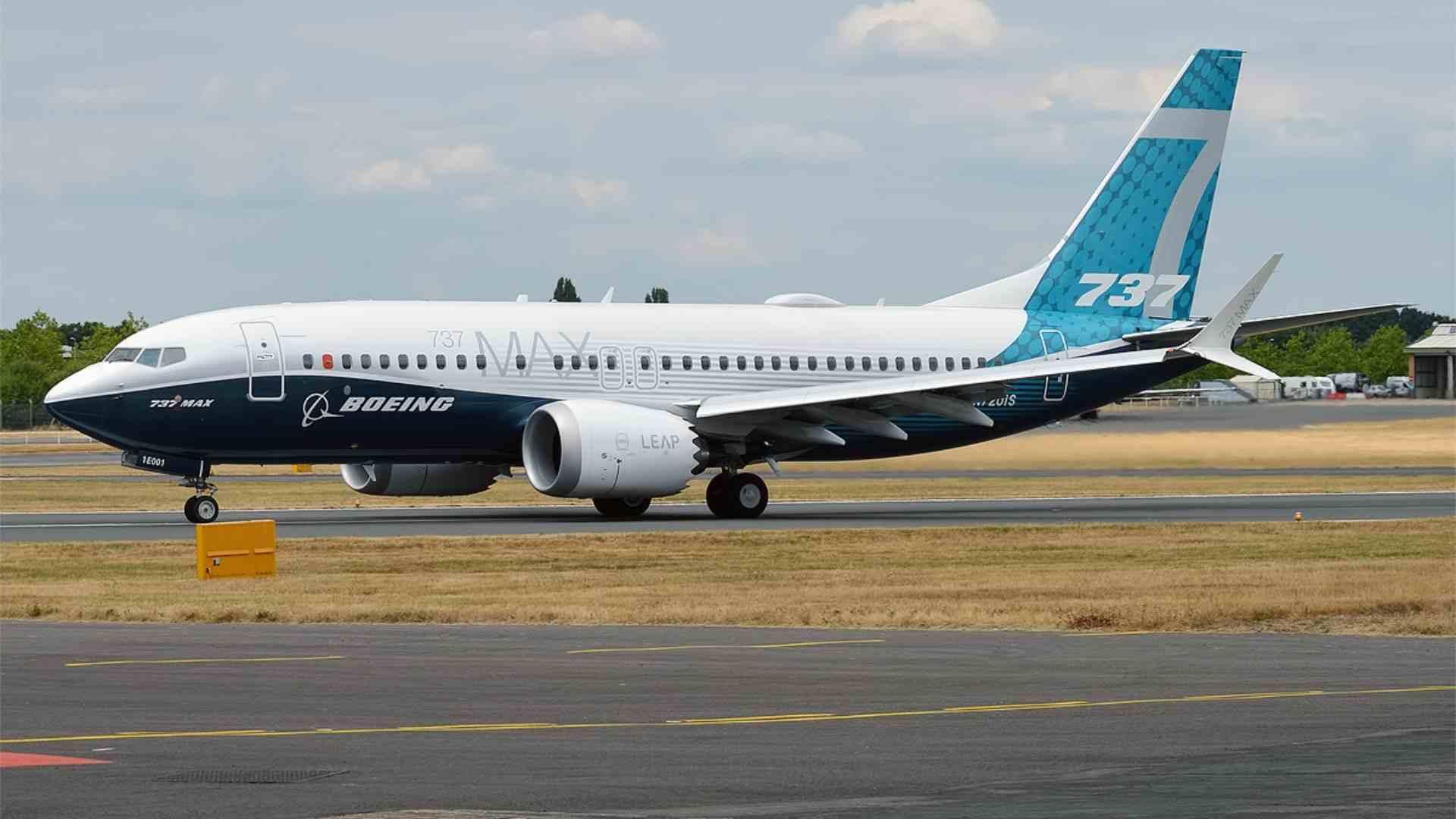 Boeing 737 MAX China Test