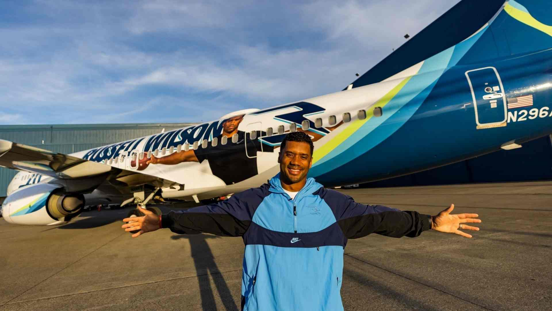 Alaska Airlines 737 - Russell Wilson Livery - SkyGoFly